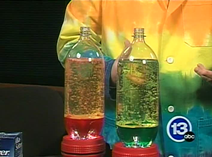 Make a non-toxic lava lamp at home – Science Cafe