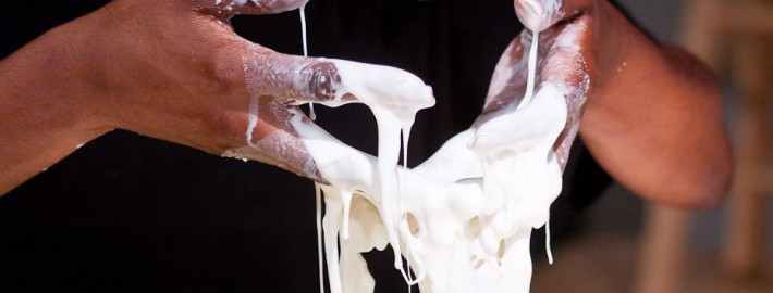 oobleck hands